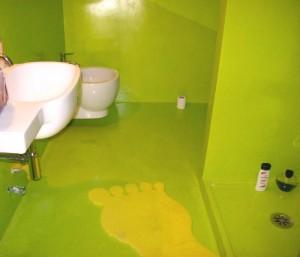pavimento pareti soffitto e piatto doccia
