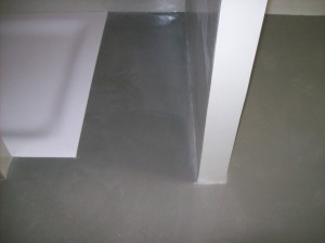 rivestimento in resina effetto seta con glitter